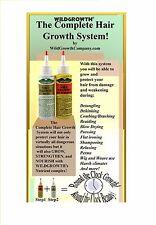 Wild Growth Hair Oil  For Longer Thicker Hair (Regular and Light Formula) 4.oz