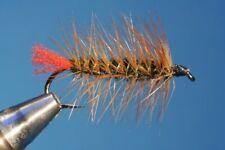 Fliegentom Streamer 3 piéces Wooley Bugger Red Tag