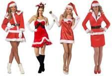 Sexy Nikolaus Santa Lady Weihnacht s Kostüm Kleid Damen Nikolauskostüm Party