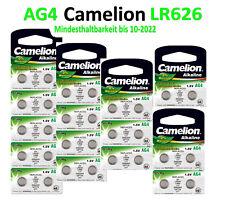 2-10 Stück Knopfzellen Uhrenbatterien Knopf Zellen Camelion AG4 1.5V LR626
