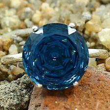 London Blue Topaz Round Shape 925 Sterling Silver Ring Jewelry DGR1091_J