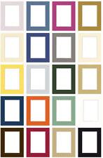 Fertig Passepartout 20 Farben viele Größen