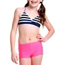 OP Girls' 2 Piece Bikini Swimsuit striped ocean pacific summer
