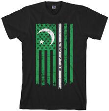 Pakistani American Flag Men's T-Shirt Pakistan US Pride
