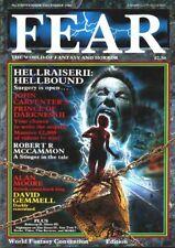 FEAR #3 (1988) David Gemmell, Clive Barker, Alan Moore