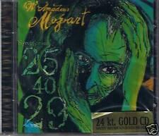 MOZART RACHLEVSKY 40, 29 & 25 Pope Music 24K GOLD CD Ne