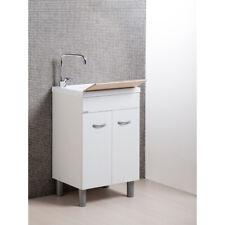 Meubles pour salle de bains/laverie. Bac lavoir avec meuble deux portes Sirena