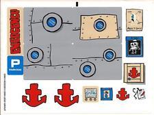 LEGO 3832 - Sponge Bob Emergency Room - STICKER SHEET - LEGO ACCESSORIES