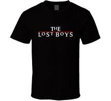 The Lost Boys 80s Movie Vampire Retro Cult Mens Black T-Shirt 100% Cotton New