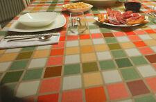 Tischdecke Wachstuch Karo bunt 160 breit 1A Angebot Sonderpreis versch. Größen