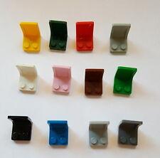 2 Doppelfenster 1x4x2 in blau aus 4439 3222 4441 61345 Lego