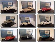 Jaguar Cars, Oxford 1/76 BNIB with Display Case
