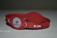 Elon University Phoenix College Sports Power Bracelet Band Wristband NIB Maroon