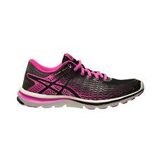 Asics Gel- Super J33 2 Women's Running Shoe's Black/Pink Glow/Silver t5p7n-9035