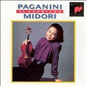Paganini Midori 24 Caprices   CD   LIKE NEW   DB1617