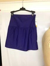 Island Escape La Palma High-Waist Swim Skirt Z760039 Navy Size 6 NWT