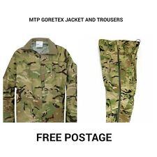 BRITISH ARMY MTP LIGHTWEIGHT GORETEX JACKET AND TROUSER SET - USED - X LARGE SET