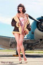Wings of Angels Michael Malak Nina's Nighty WWII SBD-4 Dauntless Print
