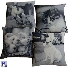 Kissenhülle mit Tiermotiv Magma Deko Kissen Pferd, Hund, Katze