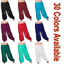 100% Cotton Harem Yoga Pants Belly Dance Trousers Aladdin Students Pantalons NEW