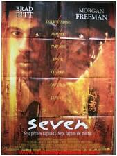 SEVEN SE7EN Affiche Cinéma 160x120 / Movie Poster BRAD PITT DAVID FINCHER