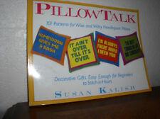 Pillow Talk by Susan Kalish and Susan Schoenfeld Kalish (1985,Paperback)