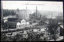 FRANCE~1900's REHON ~La Providence, vue d'ensemble~TRAIN STATION~ STEEL MILL ?