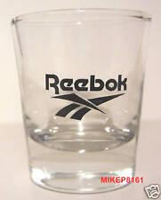 REEBOK SNEAKERS LOGO ON A CLEAR SHOT GLASS