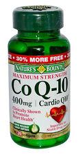 2 Pack Nature's Bounty Co Q-10 400 mg Cardio Q10 Maximum Strength, 39 Softgels