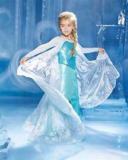 Chasing Fireflies Disney Elsa Deluxe Ultimate Costume Dress Frozen RETIRED NEW