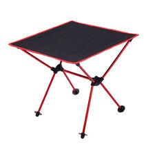 table pliante de camping d'alliage d'aluminium table portative de
