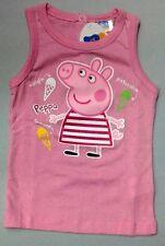 CANOTTA maglia PEPPA PIG bambina tg. 12 mesi /1anno rosa
