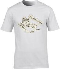 Predicadores MANIC de la Calles Inspirado Camiseta Hombre Si TOLERATE