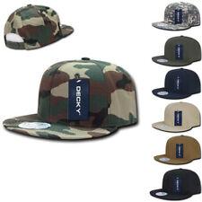 1412077ab2a DECKY Ripstop Snapbacks Retro Flat Bill Baseball Hats Caps Unisex