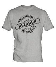Hecho en Belarús Mens t-shirt regalo navidad cumpleaños 18TH 30TH 40TH 50TH 60TH
