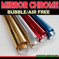 【Mirror Chrome】ALL COLOUR【 3m x 0.75m 】 Wrap Vinyl Sticker Air Free