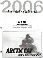 2006 ARCTIC CAT SNOWMOBILE M7 EFI PARTS  MANUAL