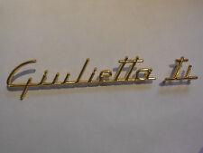 alfa romeo Giulietta ti Schriftzug Zeichen Emblem Logo Schrift vergoldet