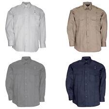 5.11 Men's Twill PDU Class-A Long Sleeve Shirt Teflon, Style 72344, Sizes S-6XL