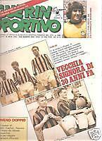 GUERIN SPORTIVO 1979/32-33 FOTO GIOCATORI ROMA MILAN *