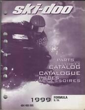 1999 SKI-DOO FORMULA S/SL PARTS MANUAL