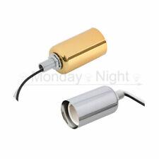 E14 Ceramic Screw Base Round Light Bulb Lamp Socket Holder Adapter