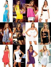 Wholesale Lot Sexy Mini Exotic Dress Party Cocktail Club Wear GoGo Rave S M L XL