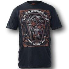 Affliction WHITECHAPEL A10434 Men's Short Sleeve T-shirt Tee Black