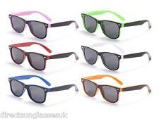 Niños Niño Niña Gafas de sol 2 Colores Marco completo UV400 Protección
