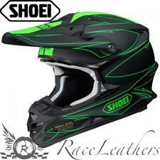Shoei vfxw Hectic TC4 matt grün MX Motocross Motorrad Dirt Bike Helm