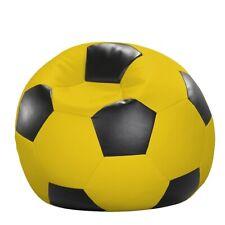 Fußball-Sitzball Kunstleder  Ø 80x80/90 cm  KC1028