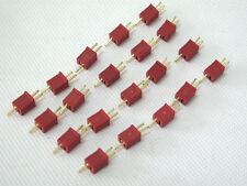 40PCS = 20 pair mini micro Dean Deans T plug connectors RC LiPo NiMh battery