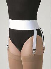 Garter Belt Adjustable Stockings Supports Compression Socks Waist Velcro Hold Up