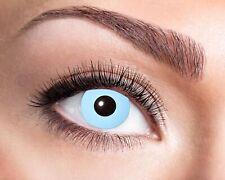 Kontaktlinse Jahreslinse Sehstärke Ice Blue hellblau blau Goldschmidt Kostüme